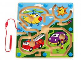 Guľôčkový labyrint- dopravné prostriedky