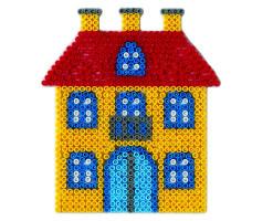 Hama Midi - podložka domček