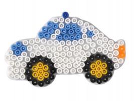 Hama Midi - podložka autíčko