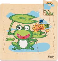 Puzzle – vývoj žaby