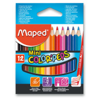 Pastelky Maped Color´s Peps Mini- 12 farieb