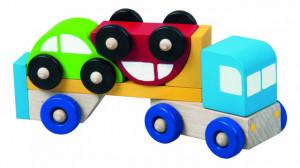 Truck s autíčkami
