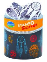 Stampo scrap - etno motívy - 21 ks