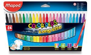 Detské fixky Maped Color´s Peps- 24 farieb