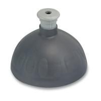 Náhradné viečko na Zdravú fľašu, antracit/ strieborná